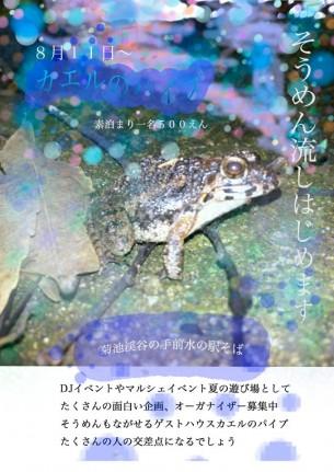 蛙のパイプ