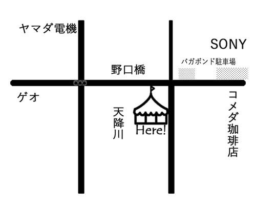 川端マルシェ会場